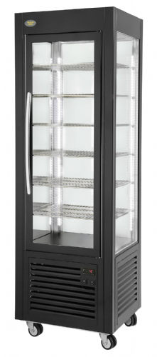 Roller Grill RD60F Black Finish Fixed Shelf Refrigerated Display Refrigerated Displays